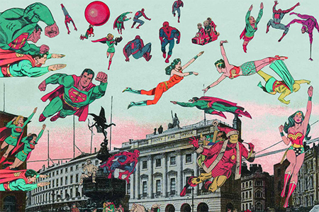 Collages by Peter Blake