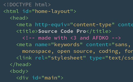 Adobe releases Source Code Pro