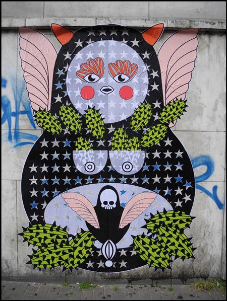 Street art by Sara Conti