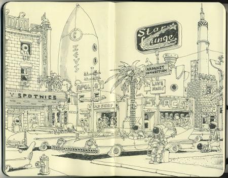 Sketchbooks by Mattias Inks