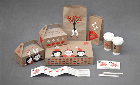 The Inside concept packaging