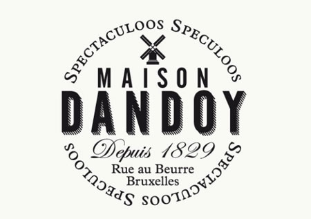 Visual identity for Maison Dandoy