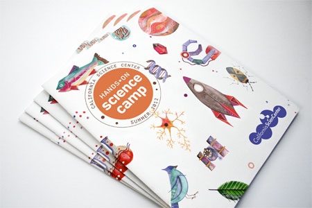 Science Camp brochure by Vanessa Lam