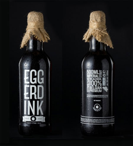 Concept beer label by Magnus Eggerdink Witterso