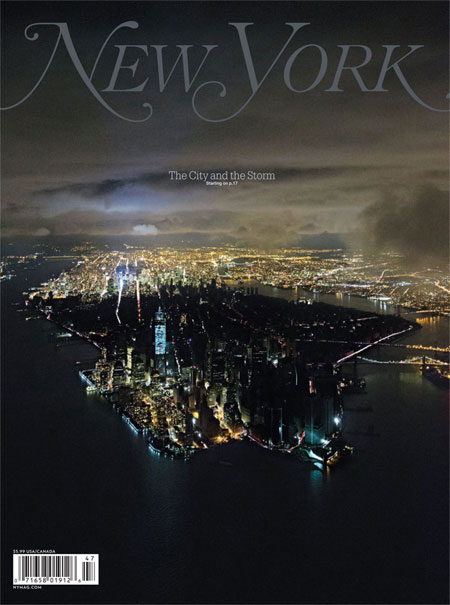 New York magazine cover shot