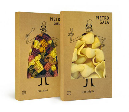 Pietro Gala packaging