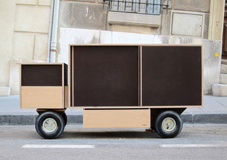 Truck furniture