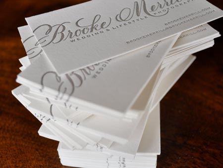 20 elegant business cards with calligraphy molly jacques business cards reheart Image collections