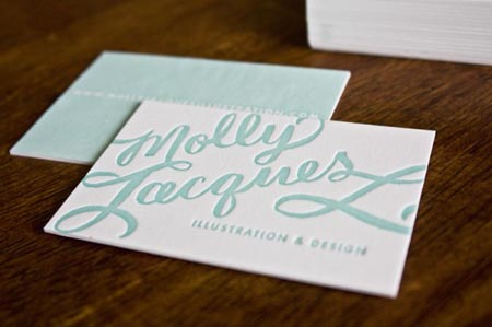 20 elegant business cards with calligraphy - Designer Daily ...