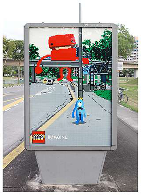 Lego imagine ad campaign