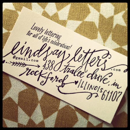 20 Elegant Business Cards With Calligraphy