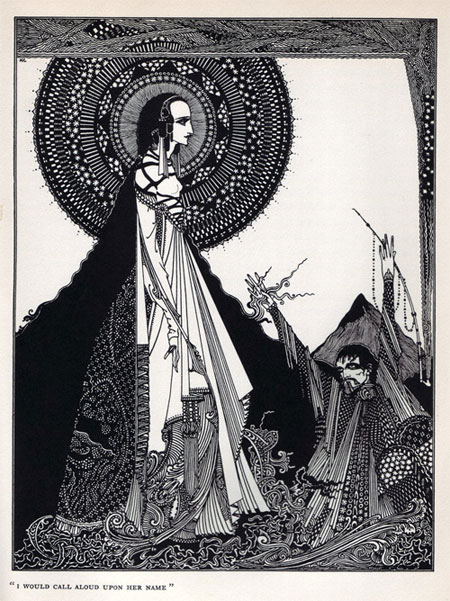 Illustrations for E. A. Poe by Harry Clarke