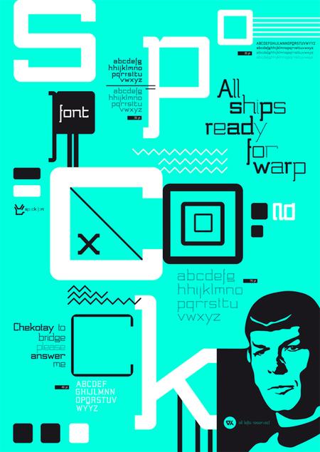Spock font