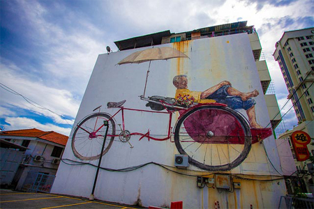 Interactive Street Art from Ernest Zacharevic
