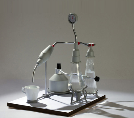 Laboratory espresso machine