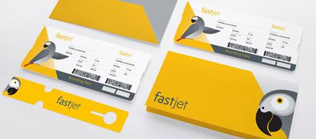 Fastjet corporate identity