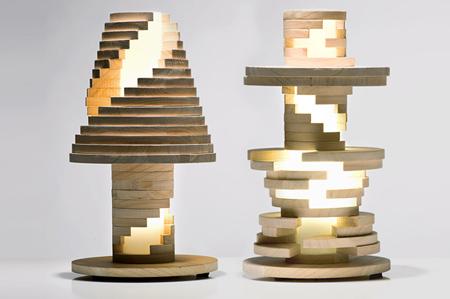 Creative Babele lamp