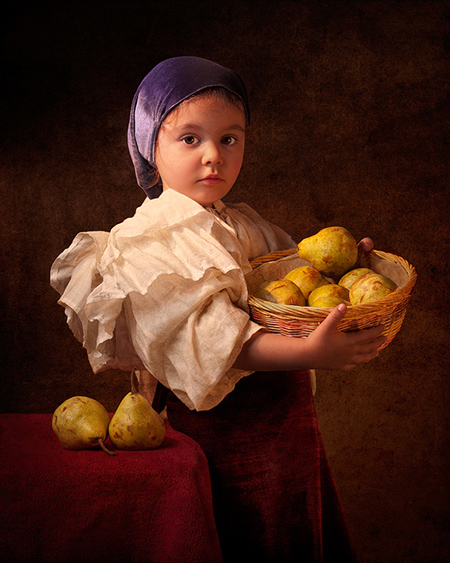 Beautiful old fashioned portraits by Bill Gekas