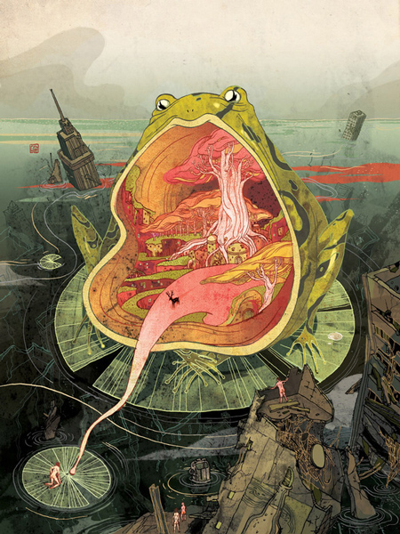 Featured illustrator: Victo Ngai