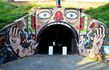 Street art by Mr Thoms