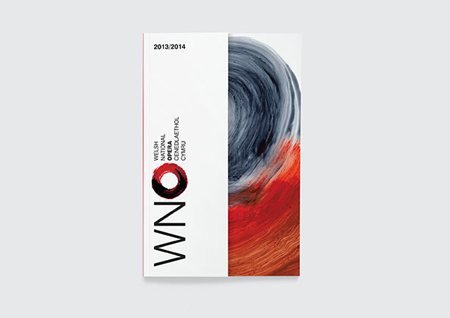 Welsh National Opera identity