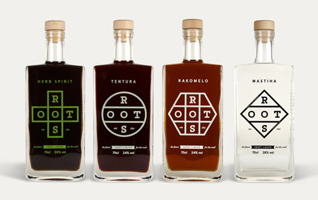 Roots packaging by Bob Studio