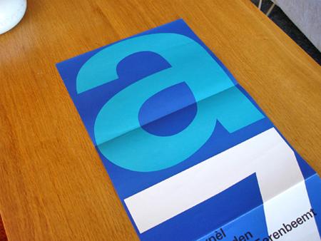 Stedelijk Museum poster design