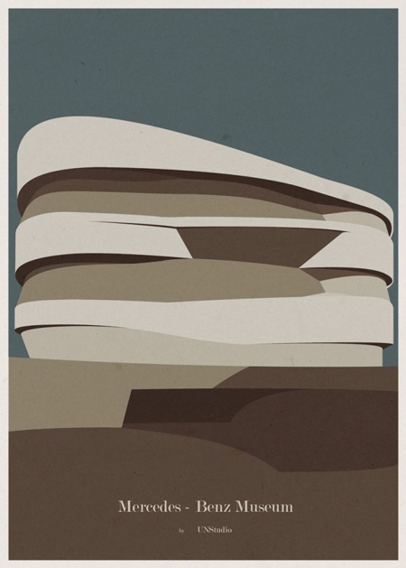 Architecture Illustrations Posters