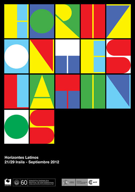 Proposed poster designs for Festival de San Sebastian