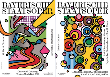 Artwork for the bavarian state opera