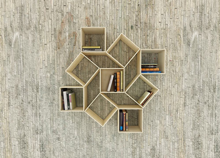 a collection of amazing and creative shelves - designer daily