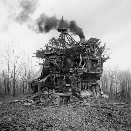 The crazy houses of Jim Kazanjian