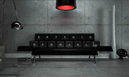Qwerty Couch