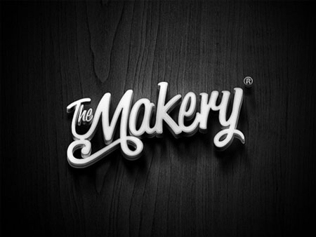 The makery branding