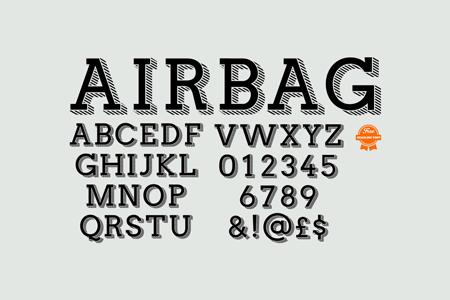 airbag-typeface-free