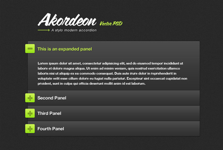 akordeon-modern-jquery-accordion-plugin