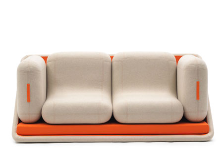 Sofa by Matali Crasset