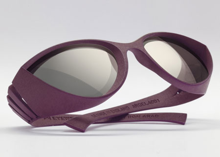 Springs 3D-printed glasses by Ron Arad