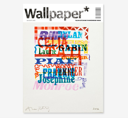 Wallpaper handmade covers