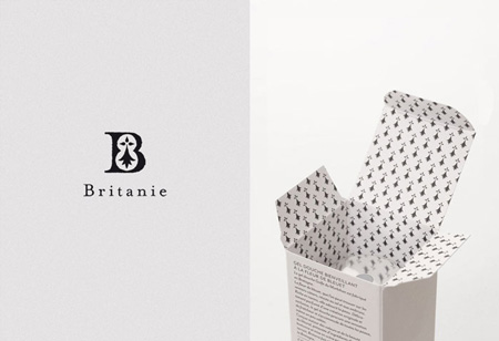 Britanie Cosmetiques packaging