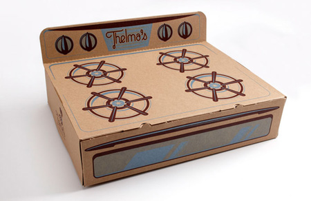 Thelma's Treats packaging