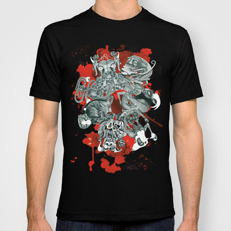 The seven deadly sins t-shirt