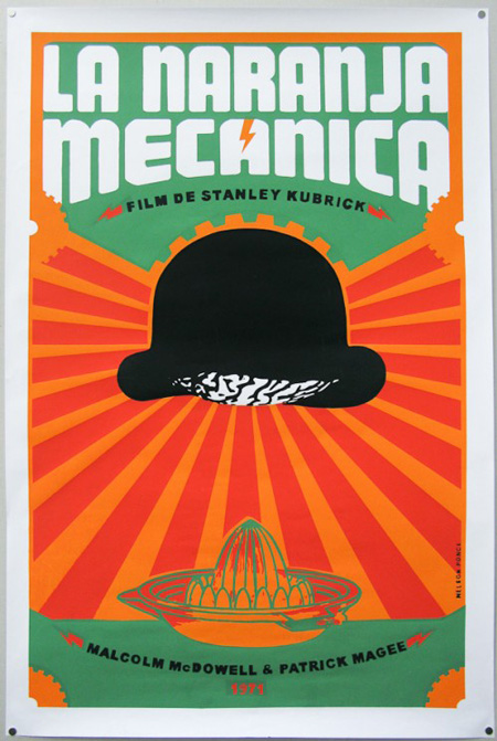 Cuban poster for A Clockwork Orange