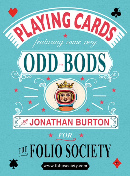 Folio society playing cards