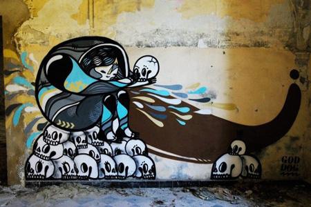 Street art by GoddoG