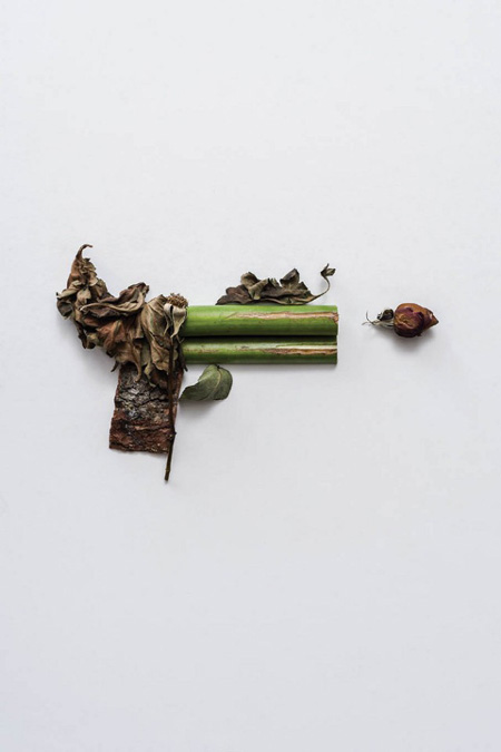 Weapons made of plants