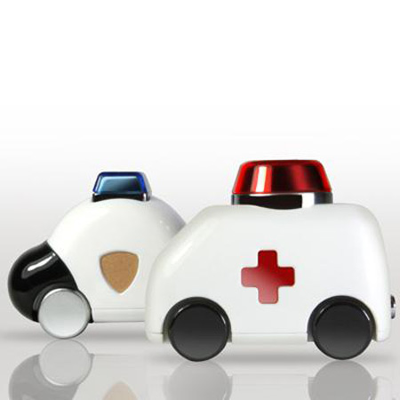Ambulance or a police car USB flash drives