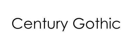 century-gothic