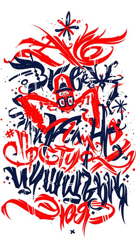 Cyrillic ABC poster