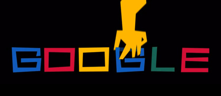 Google doodles for saul bass' 93rd birthday